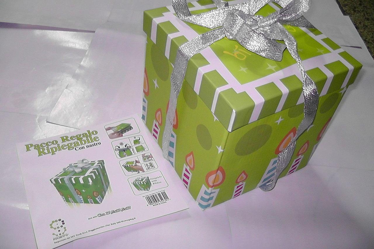pacco regalo senza carta